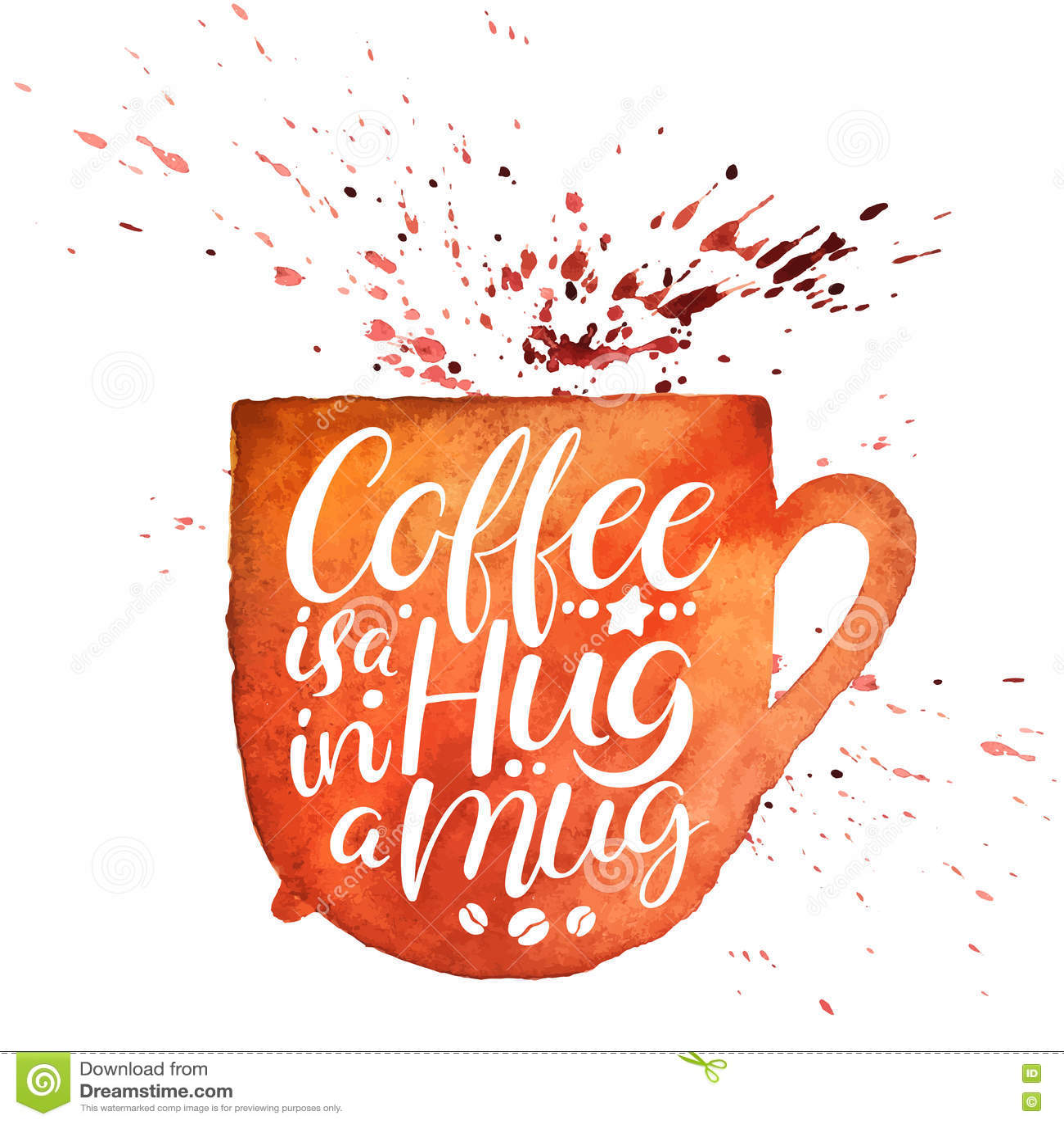 Kawa jest uściśnięciem w kubku