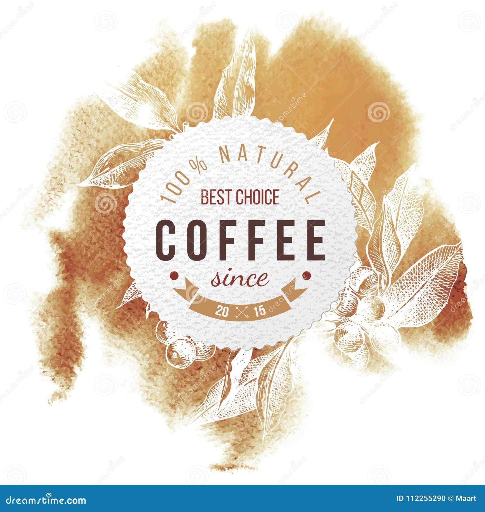 Kawa papierowy emblemat