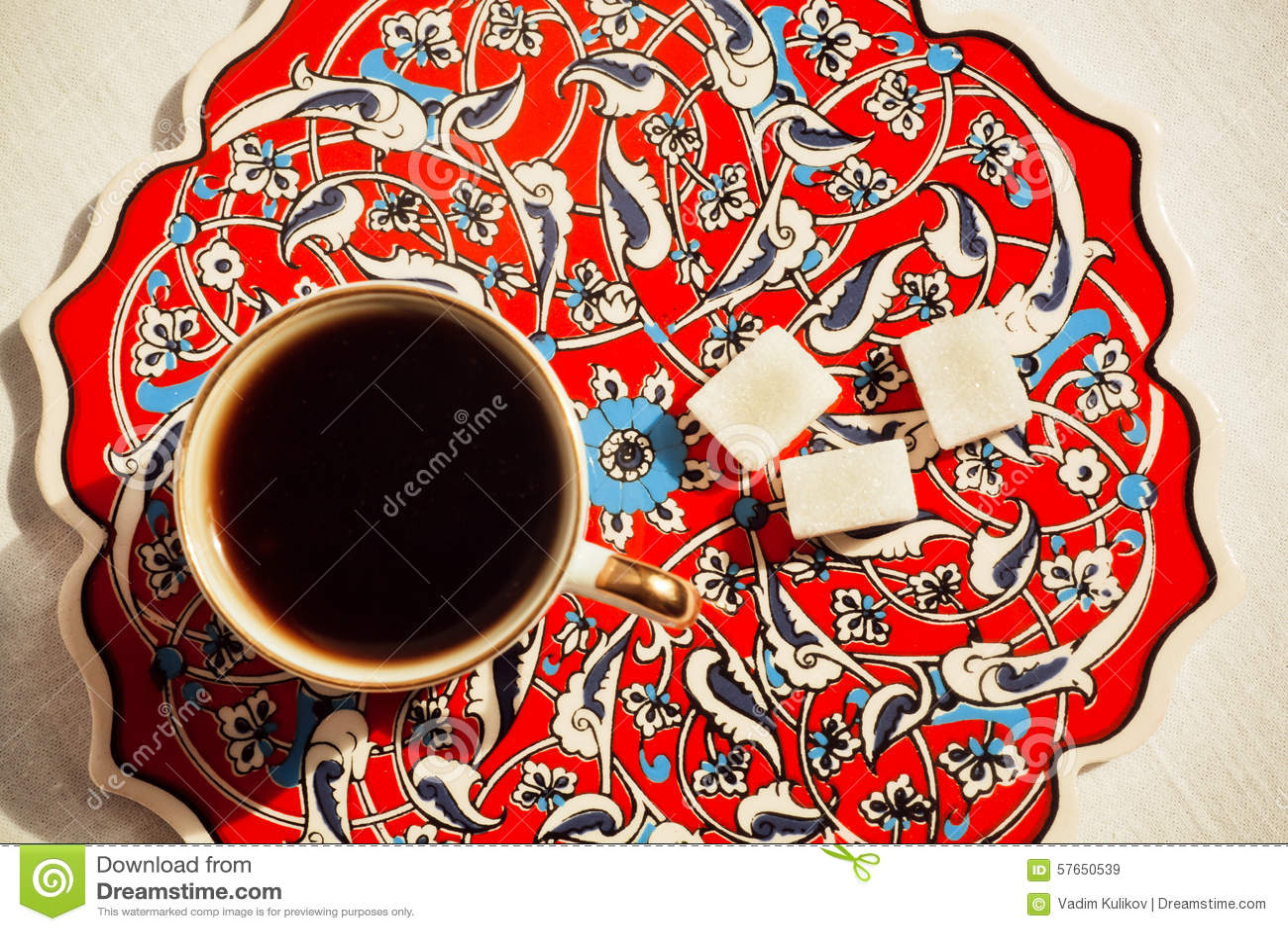 Kawa w Tureckim stylu