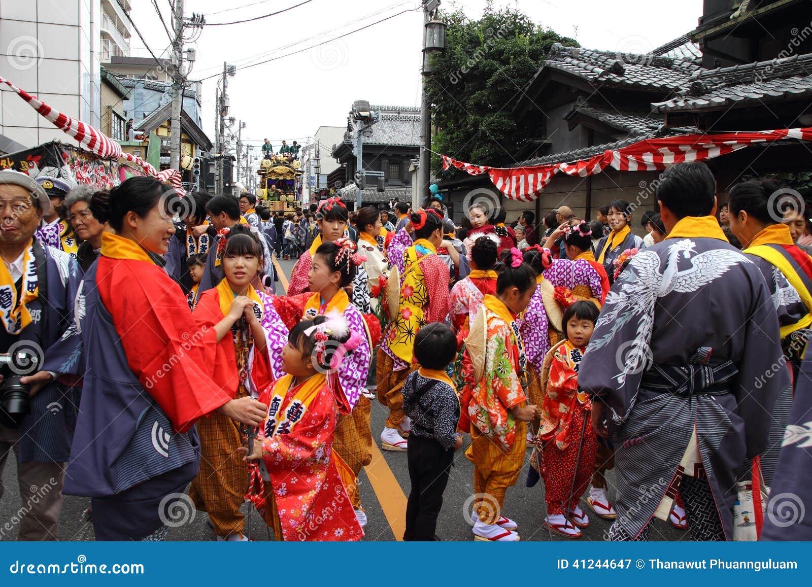 Kawagoe Festival On Oct 19 2013 In Kawagoe Editorial Photography - Image: 41244647