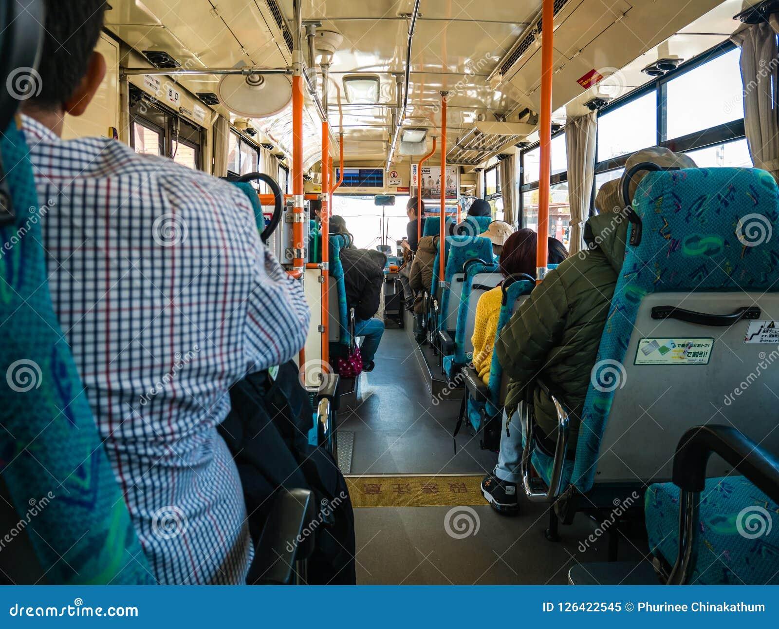 Interior of the Omni bus