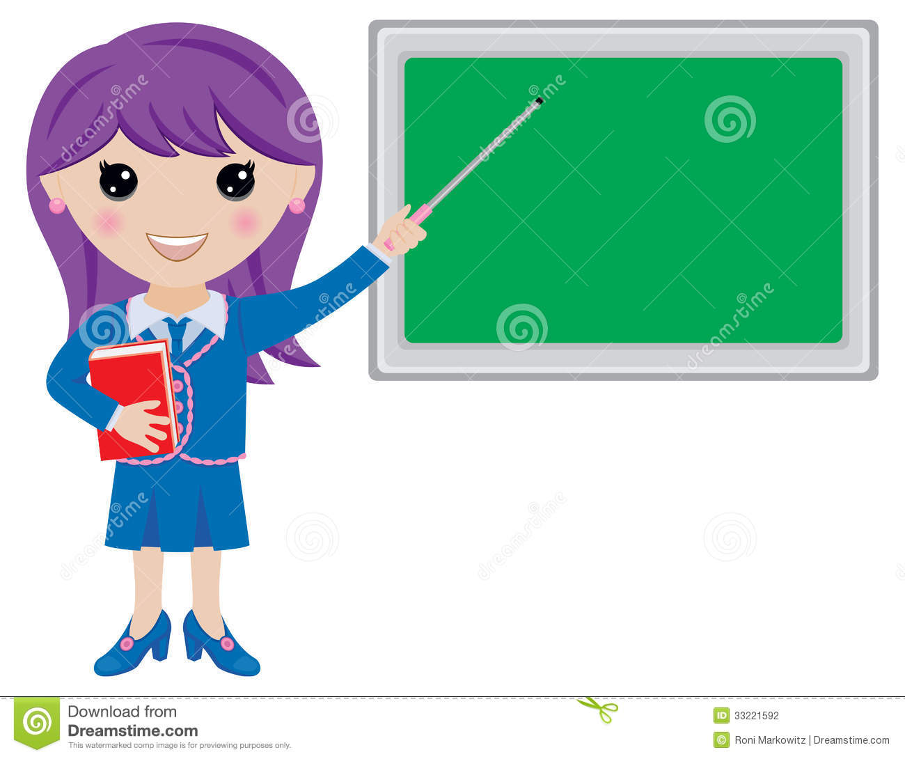 girl teacher clipart - photo #8