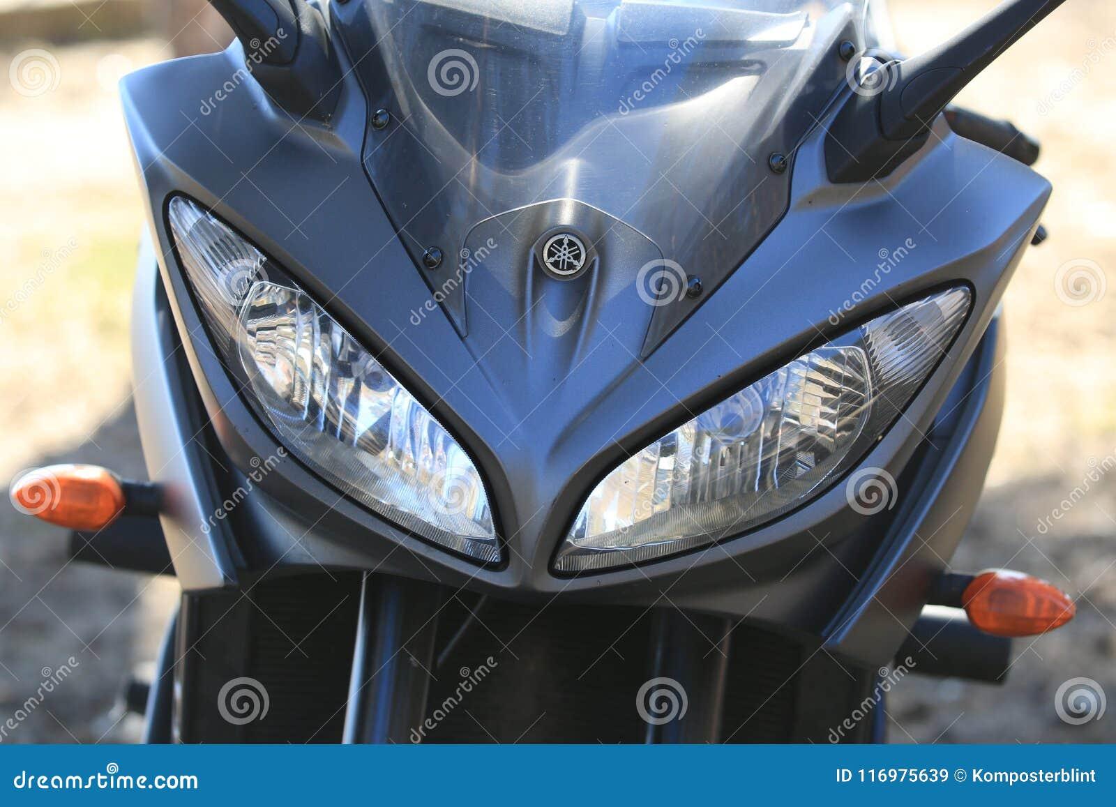Kawasaki Motorcycle Capot de carénage avant avec des phares et des clignotants