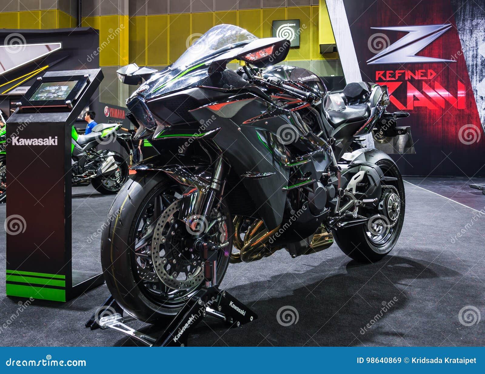 Kawasaki Ninja H2 Imagem De Stock Editorial Imagem De Bicicleta
