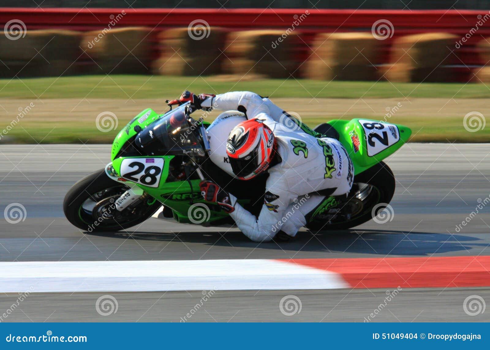 Kawasaki race motorcycle