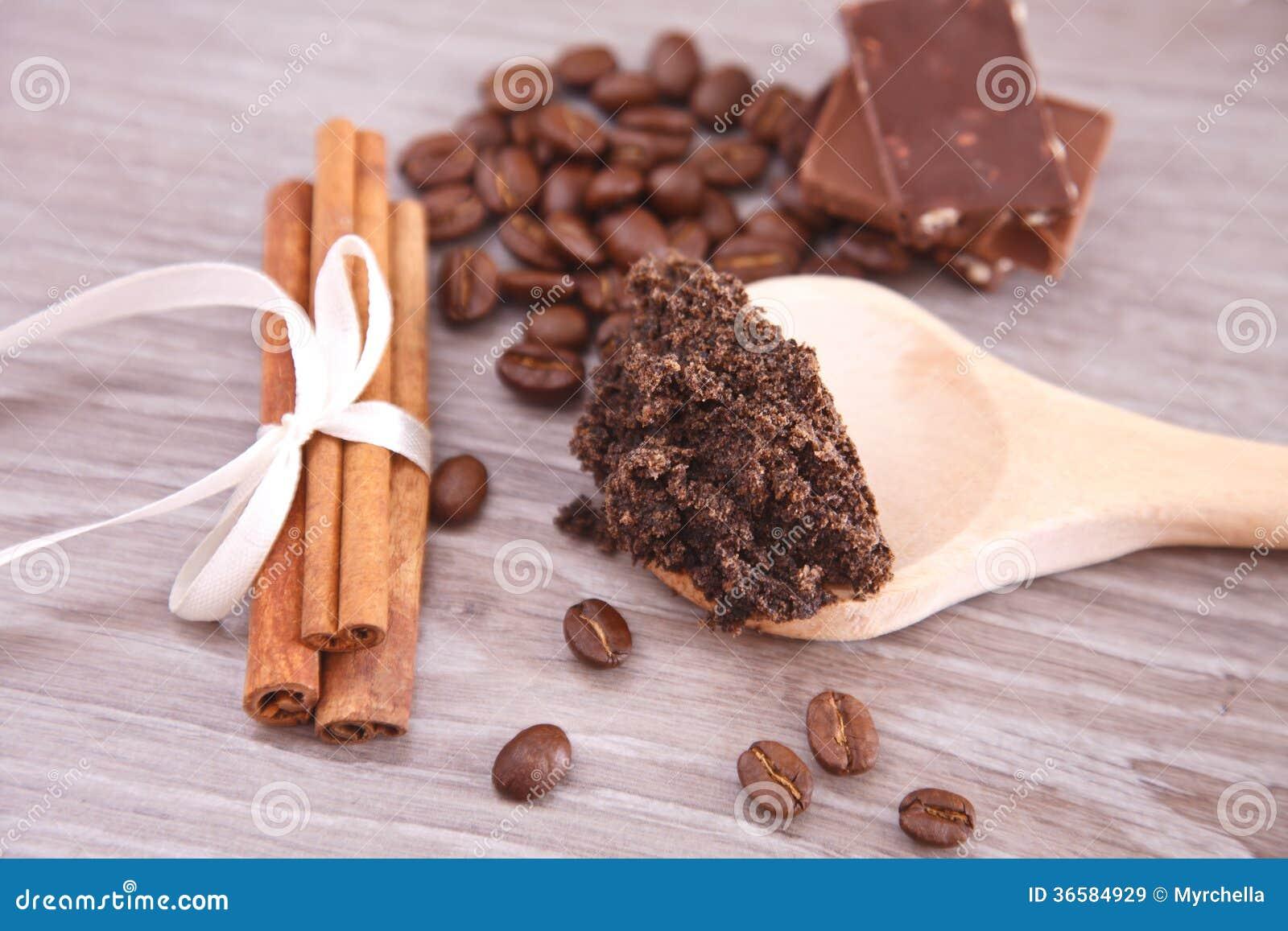 Kawowa skóry pętaczka