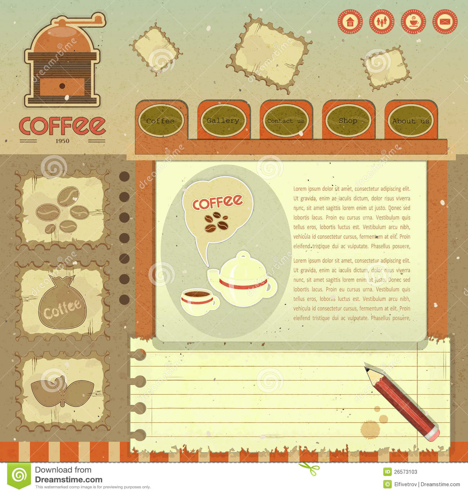Kawowy Rocznika Sieci Projekt