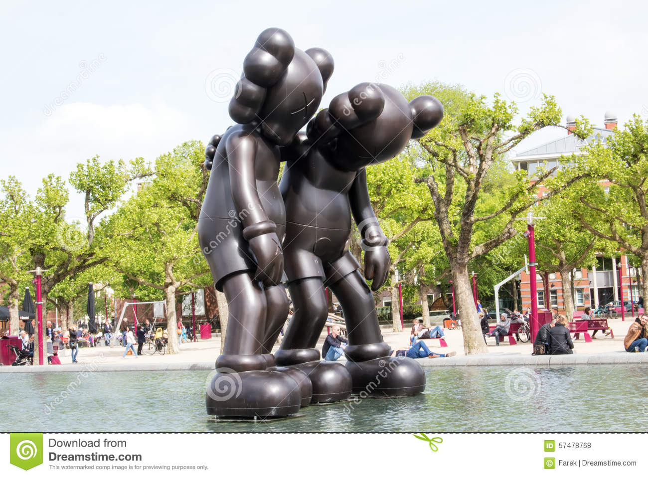 726f514e KAWS is the main attraction with four massive wooden sculptures appearing  in three separate installations, including placement at the city's major  cultural ...