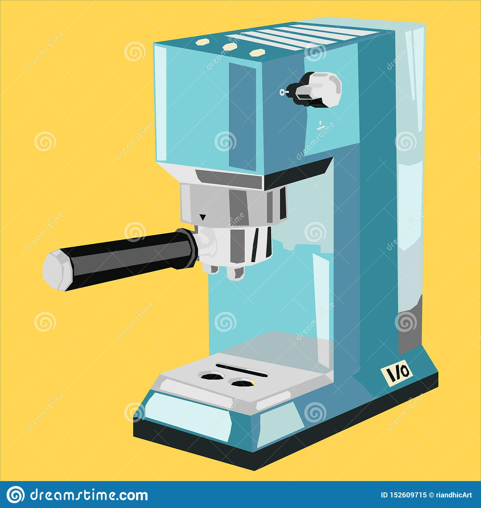 Kawy espresso maszyny logo ikony mieszkanie