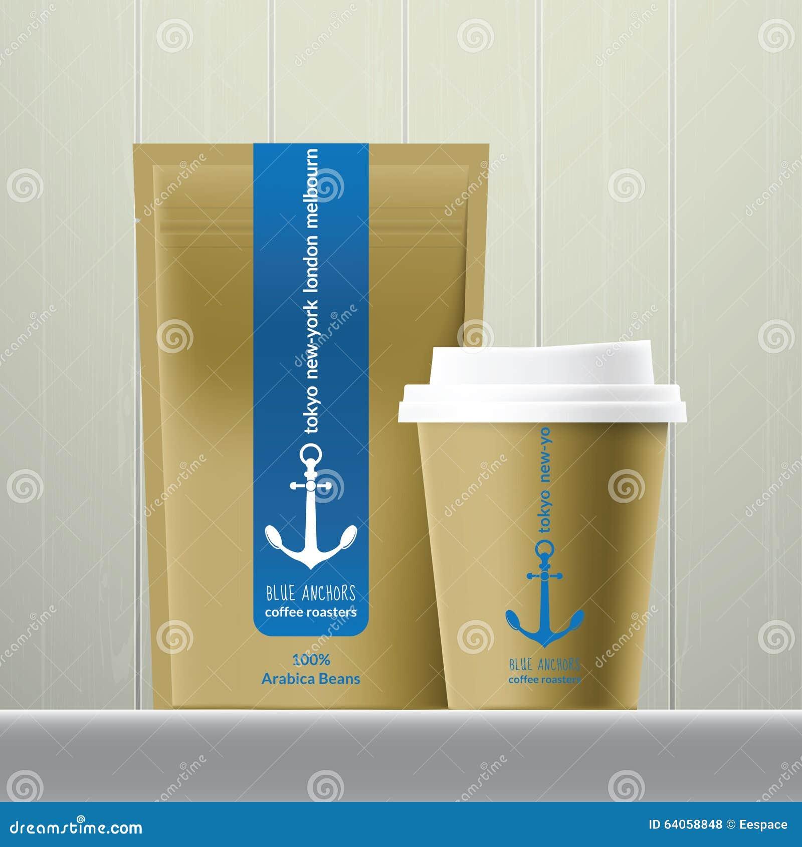 Kawy i fasola pakunku set