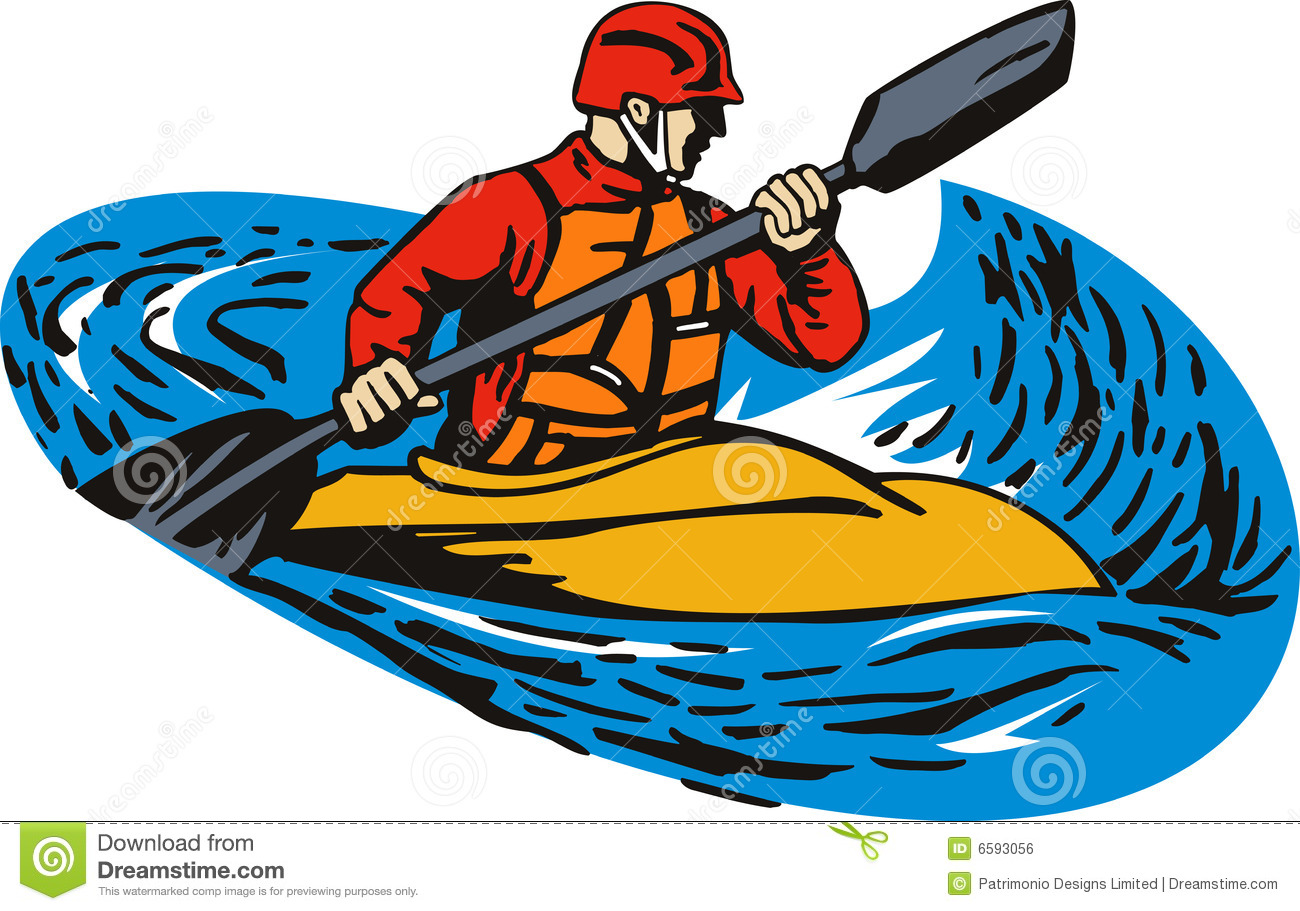 clipart of a kayak - photo #47