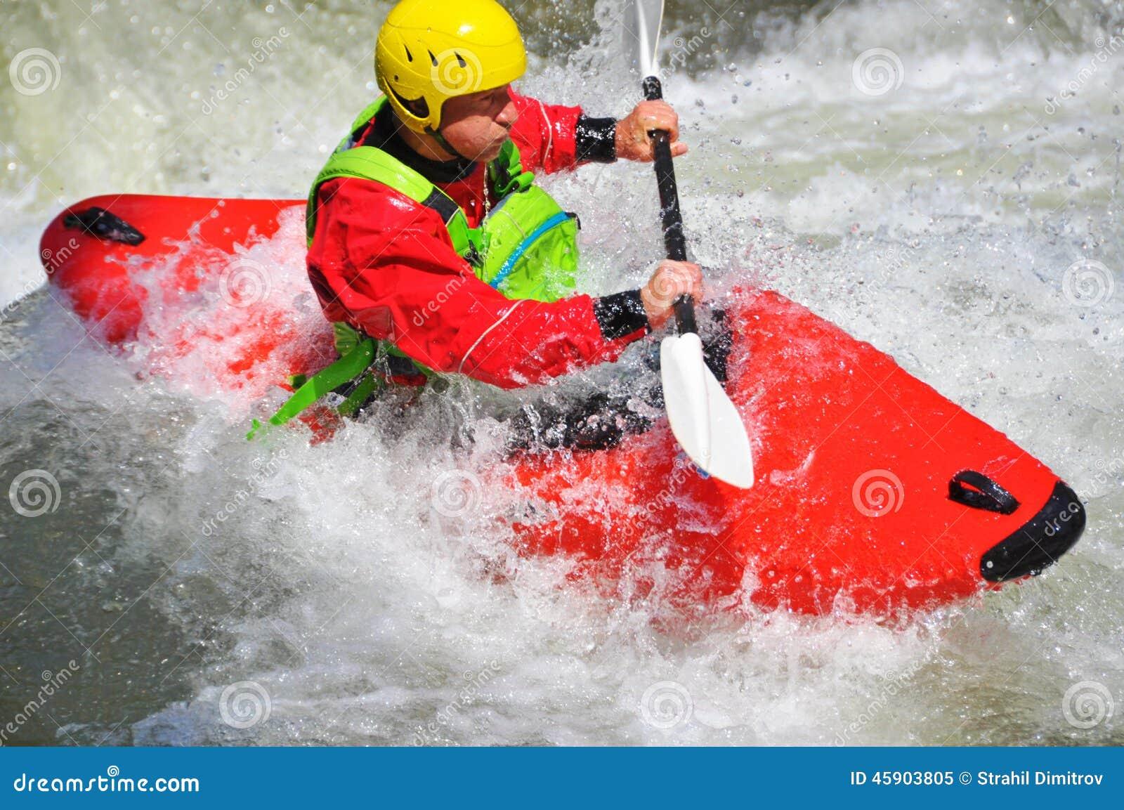 Kayak fahren als Extrem- und Spaßsport