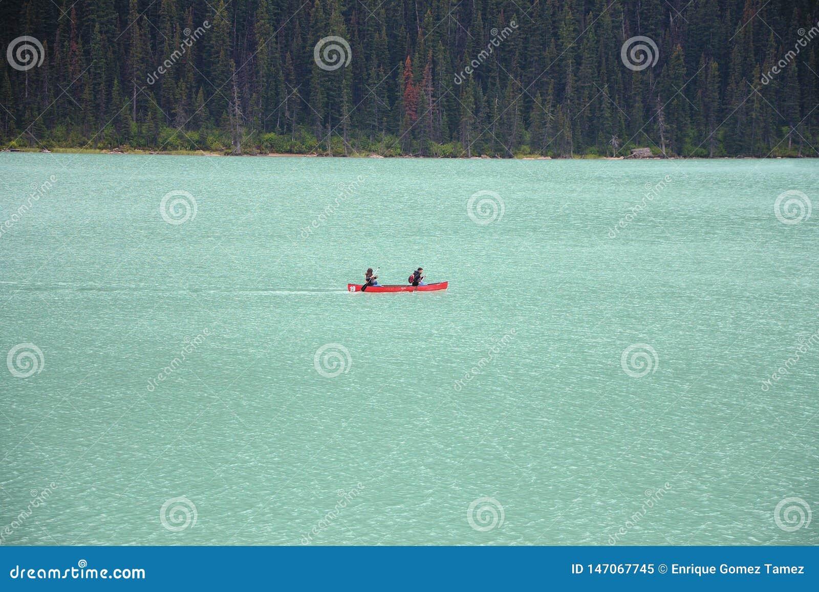 Kayak at Lake Louise
