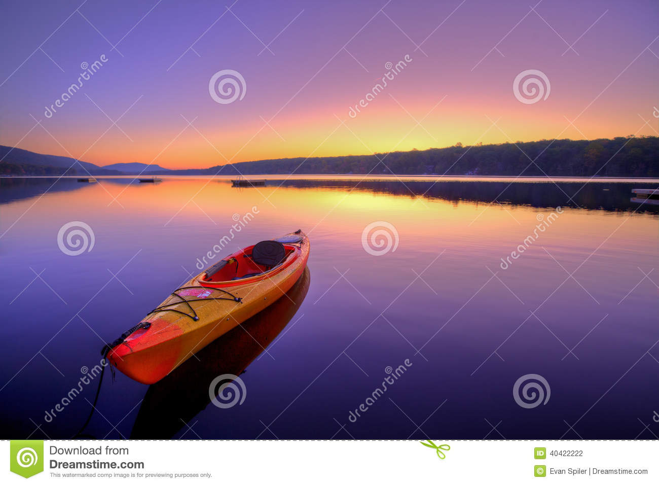 Kayak Lake at Sunrise