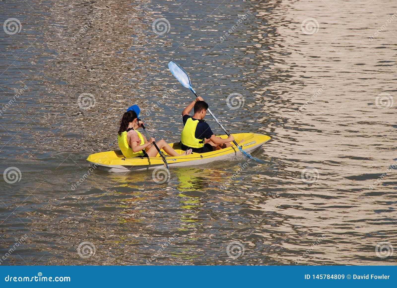 Kayakers de Séville