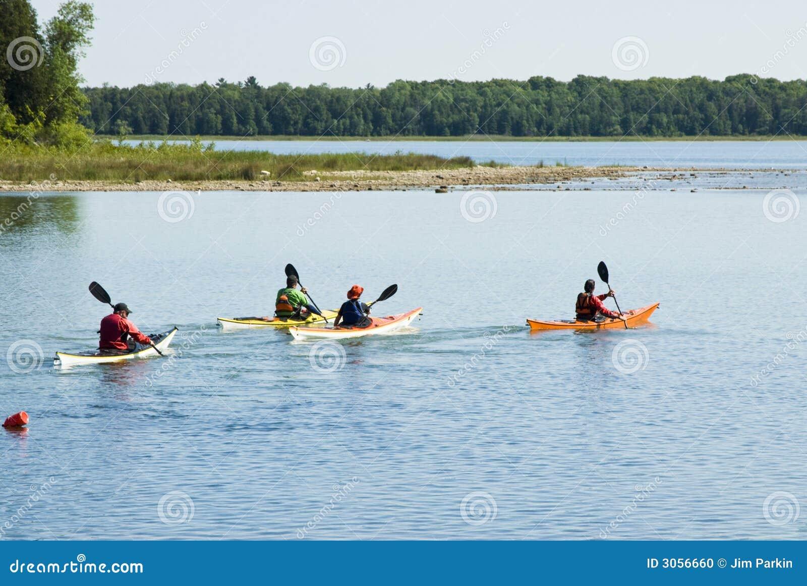 Kayaking 3 stock photo. Image of marine, pleasure, kayaks - 3056660
