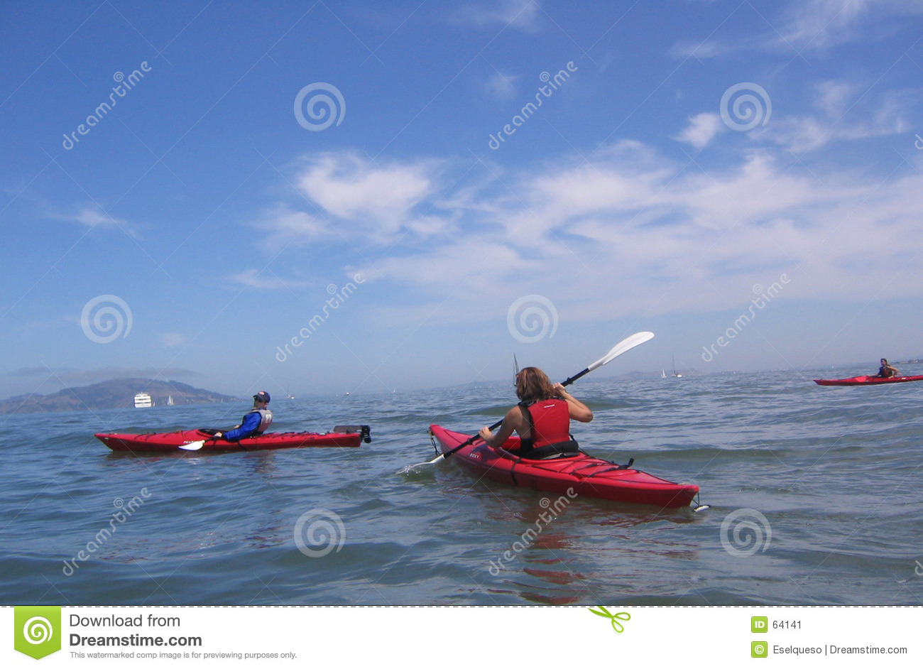 Download Kayaking image stock. Image du ciel, francisco, aventure - 64141