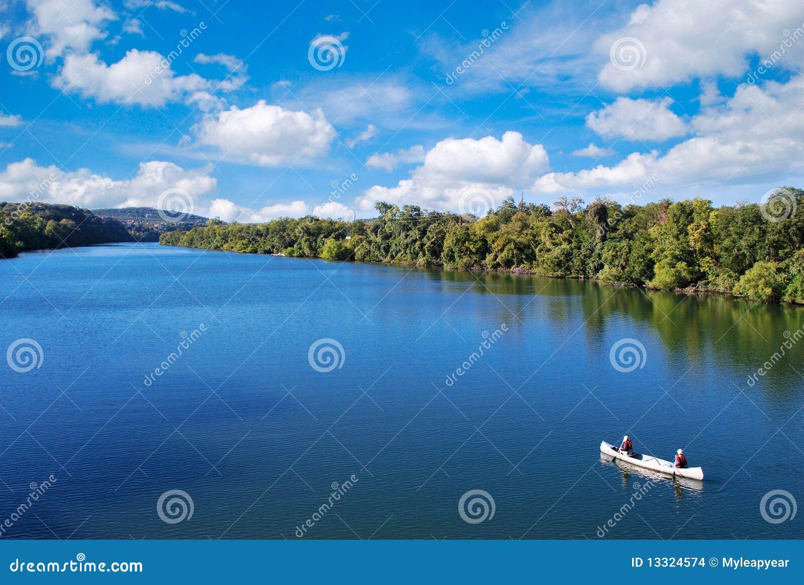 Kayaking a Austin