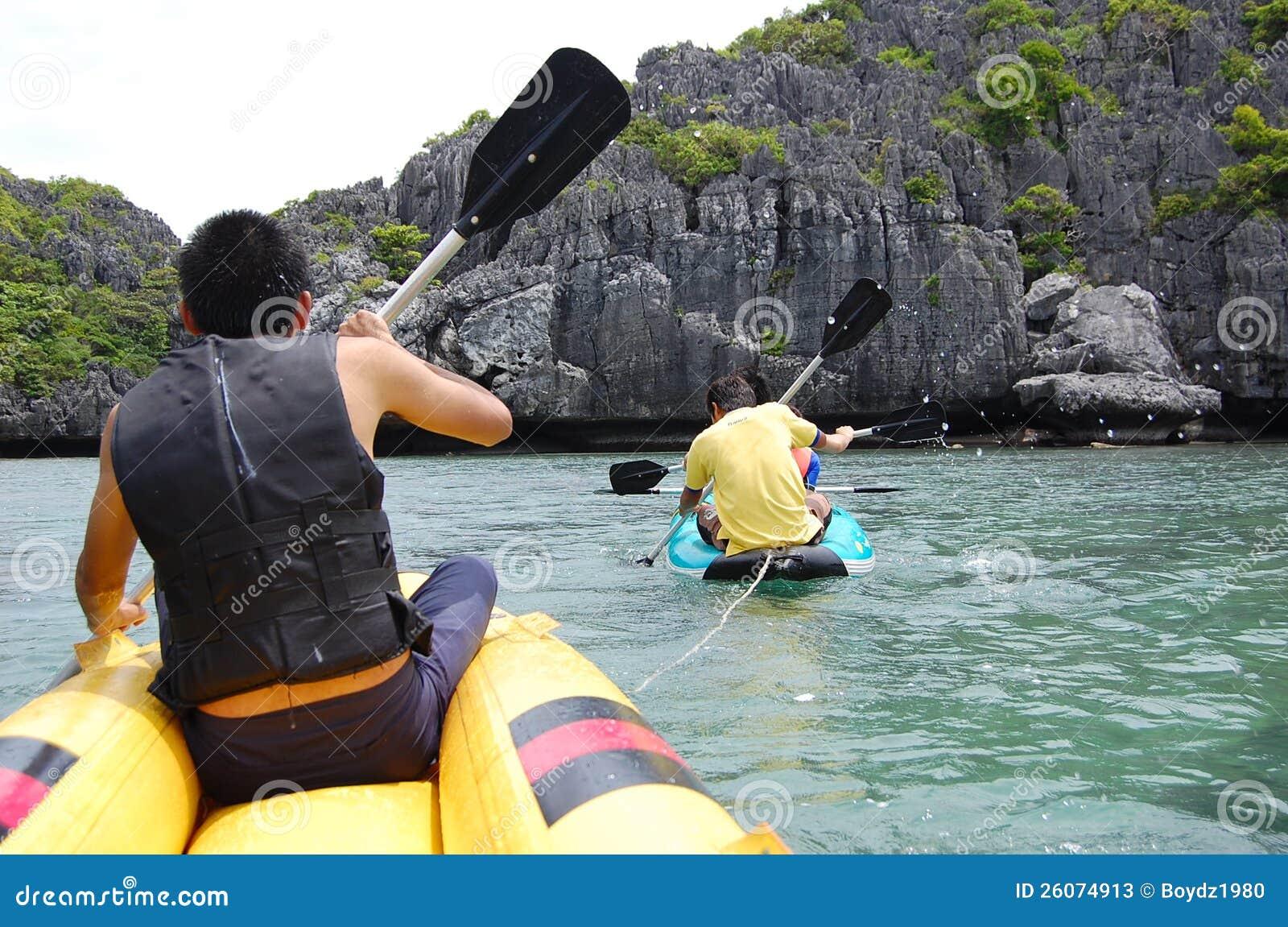 Kayaking At KOH SAMUI Editorial Stock Photo - Image: 26074913