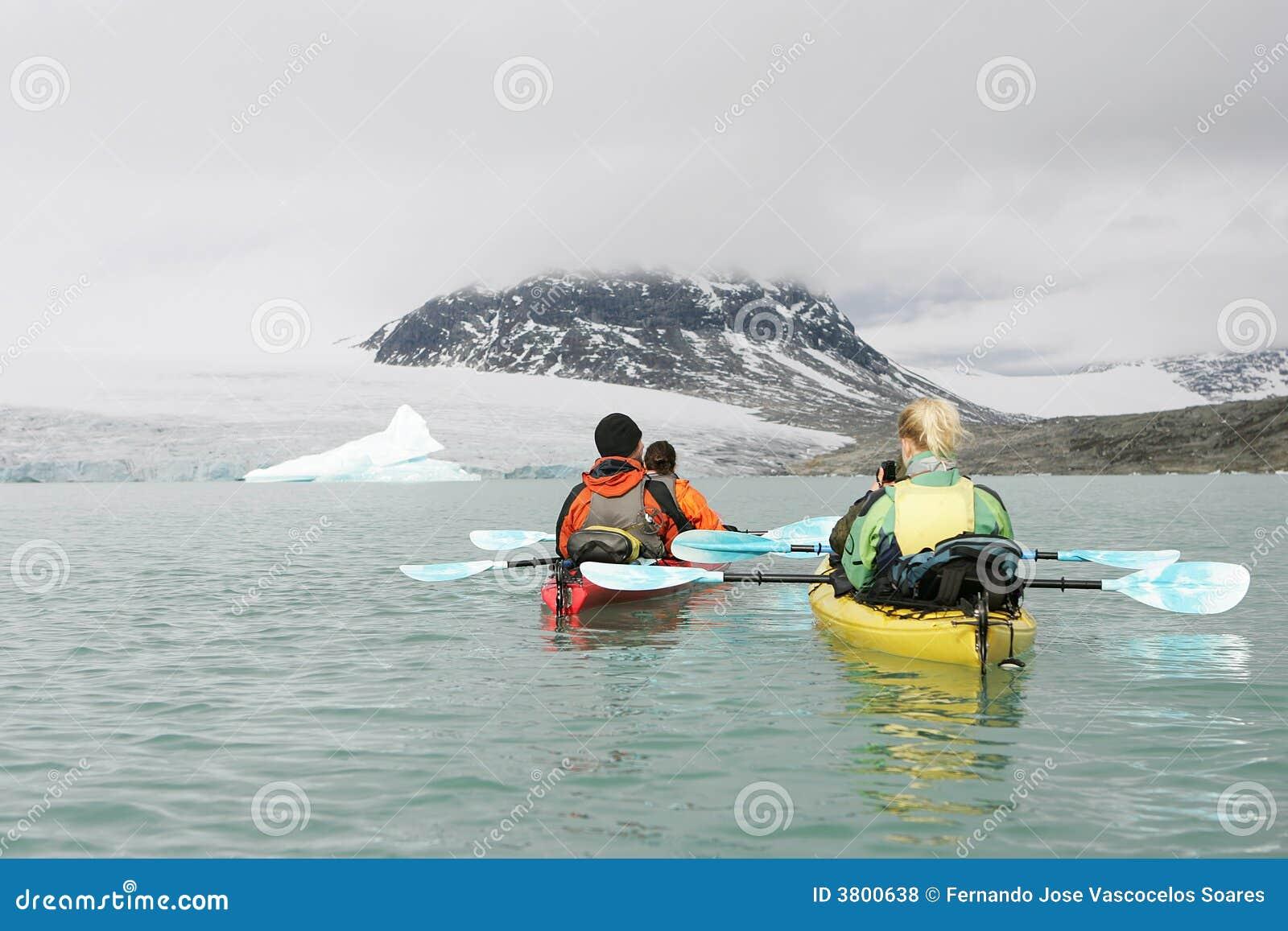 Kayaking in Noorwegen