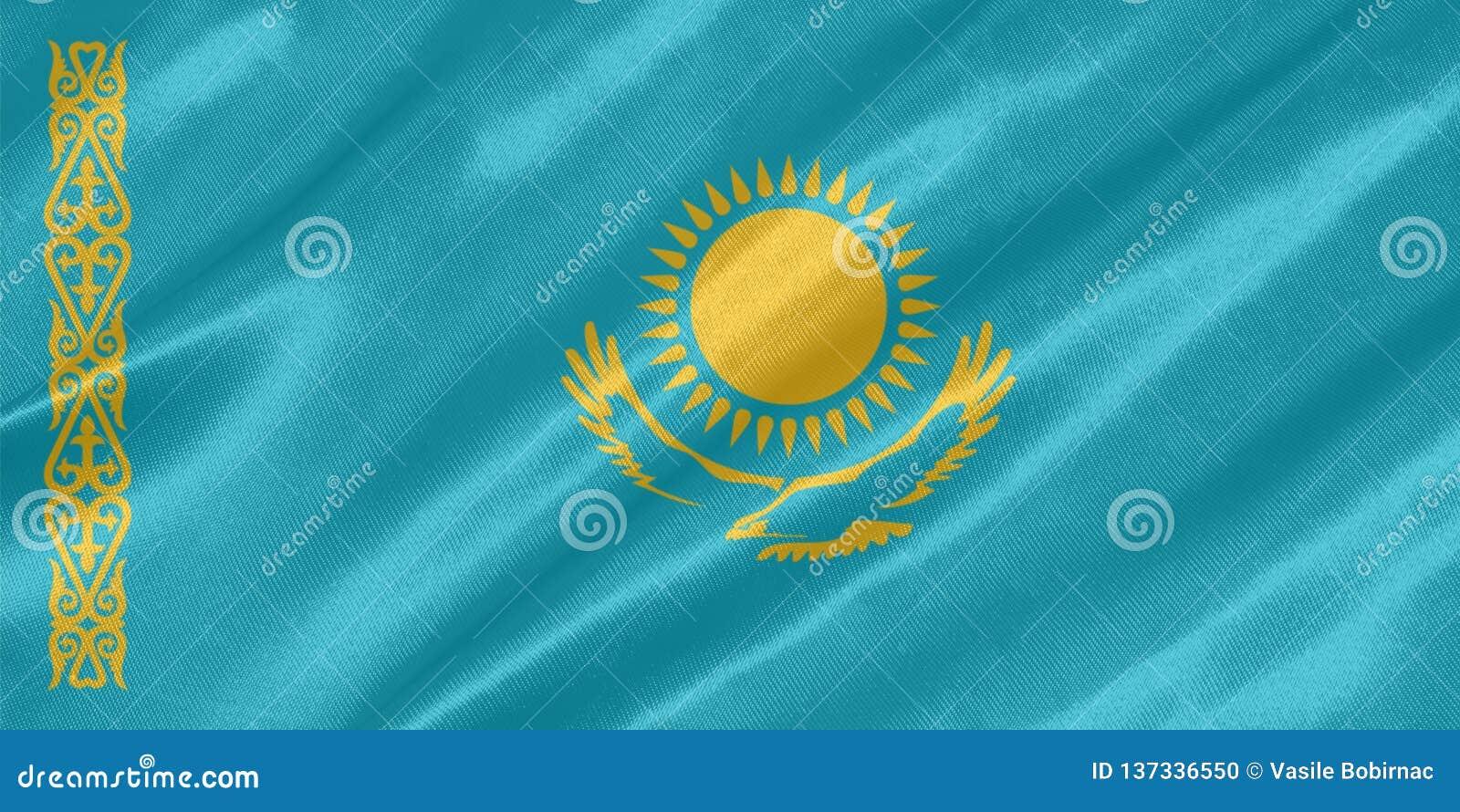 Kazachstan flaga