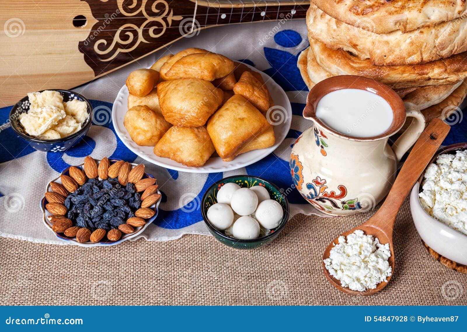 Kazakh food stock photo image 54847928 for Cuisine instrument
