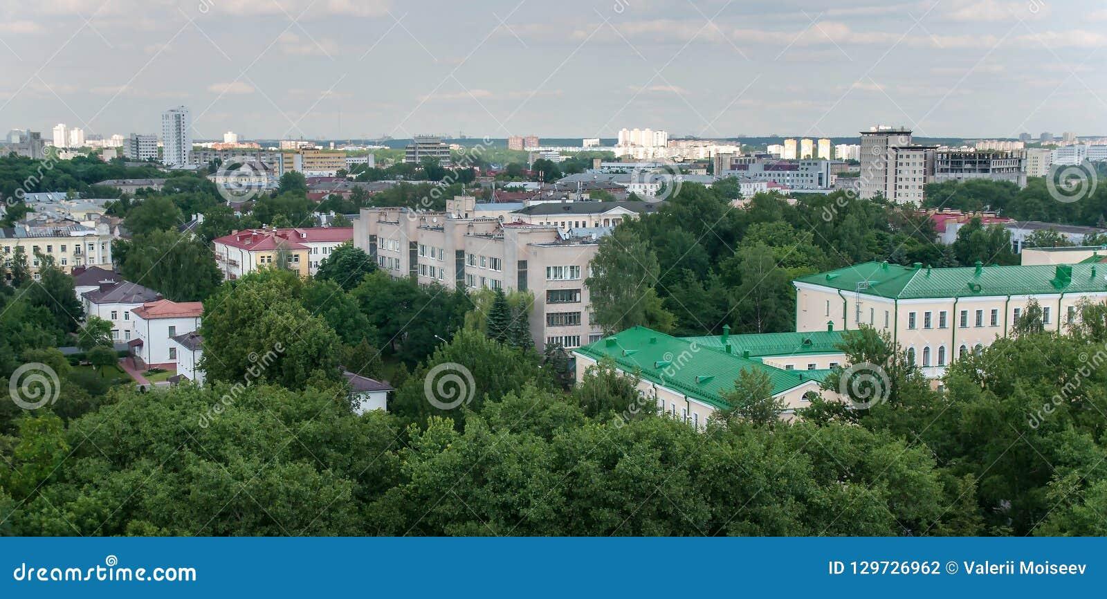 Kazan sikt av staden uppifrån