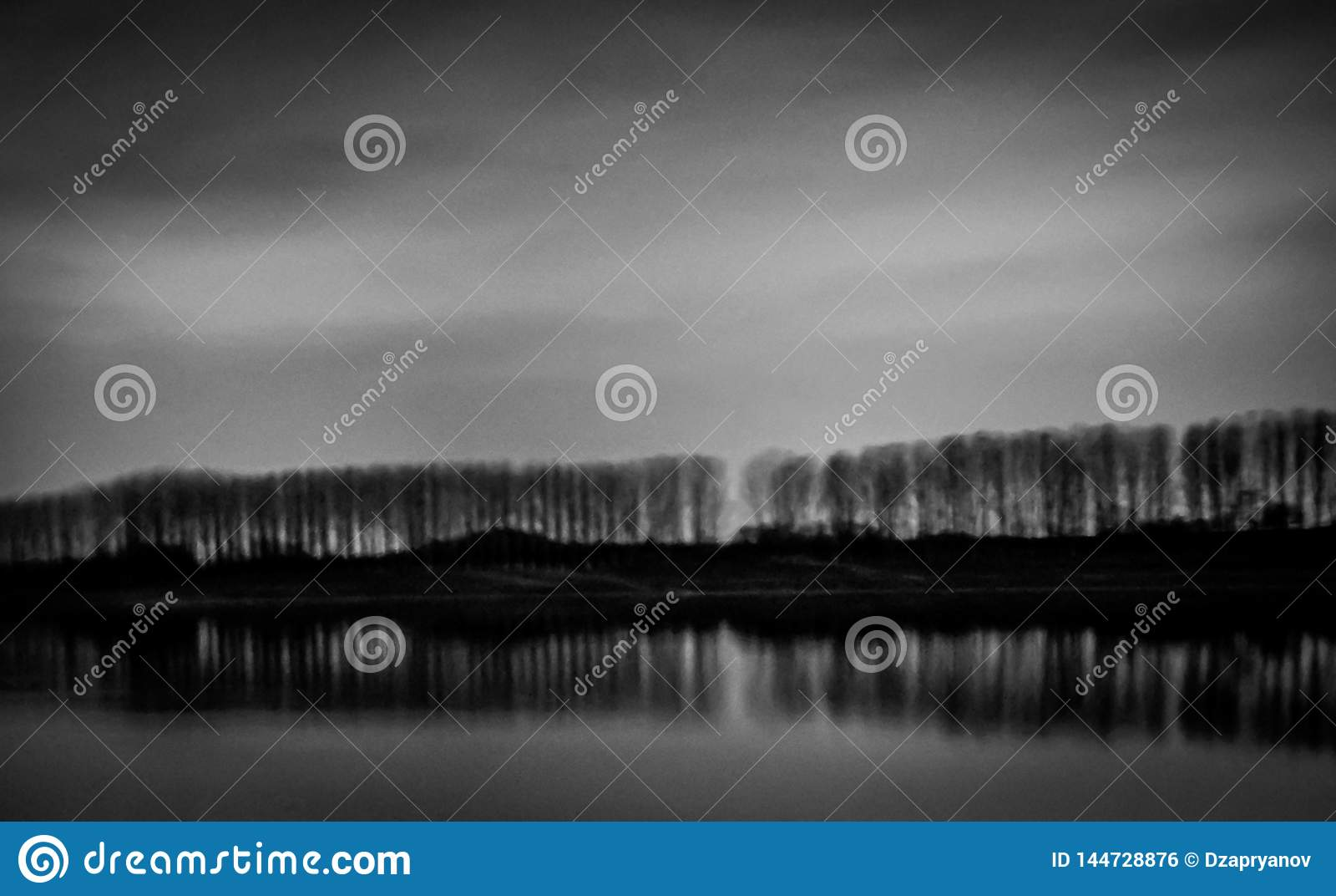Kazanlak Bulgarien, Koprinka fördämning, nattfotografi