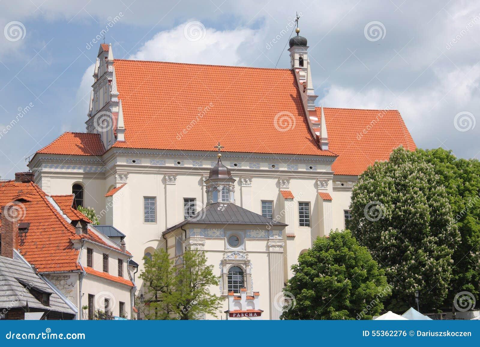 Kazimierz Dolny da tne il Vistola, Polonia