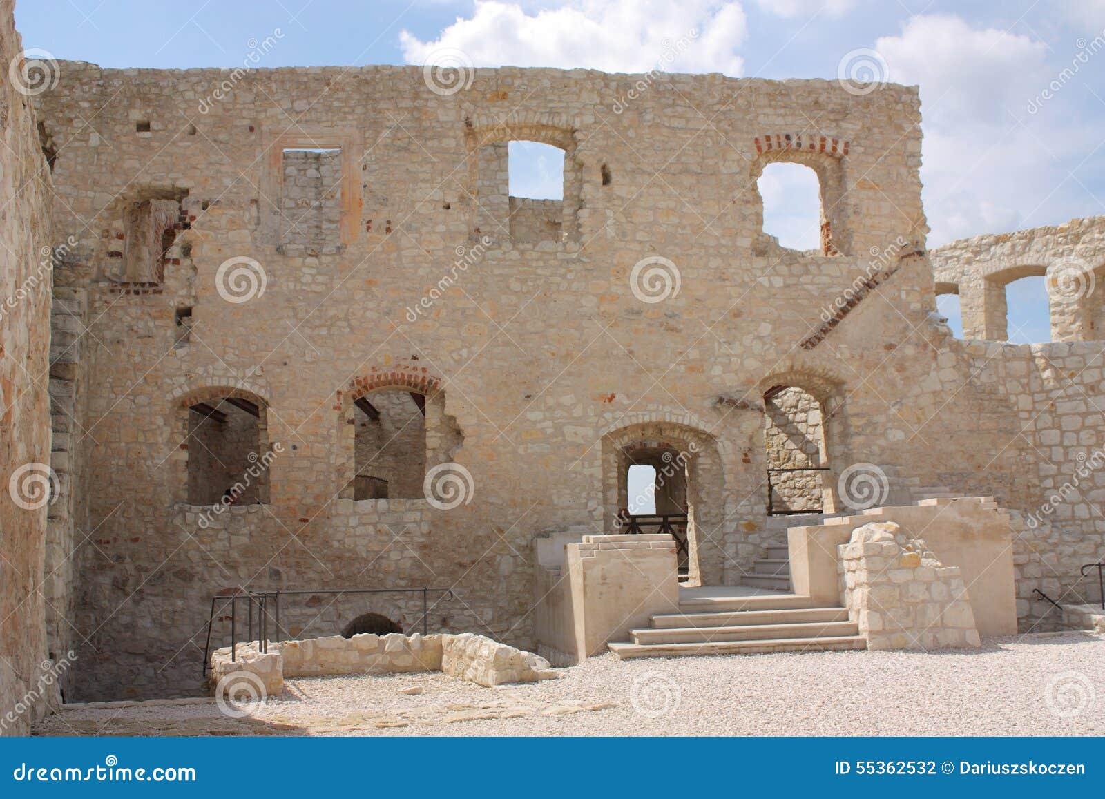 Kazimierz Dolny, le rovine del castello