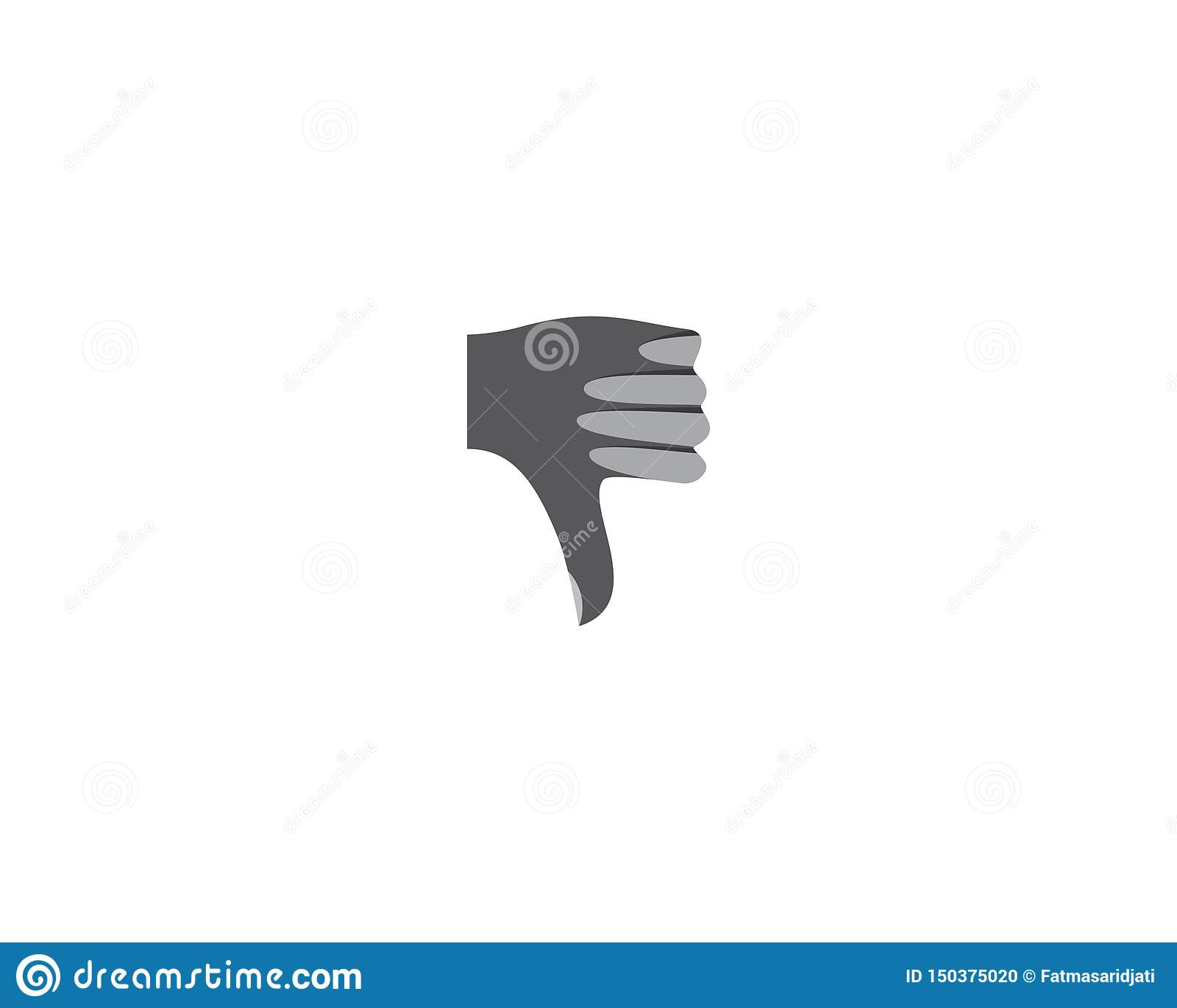 Kciuka logo ilustracja