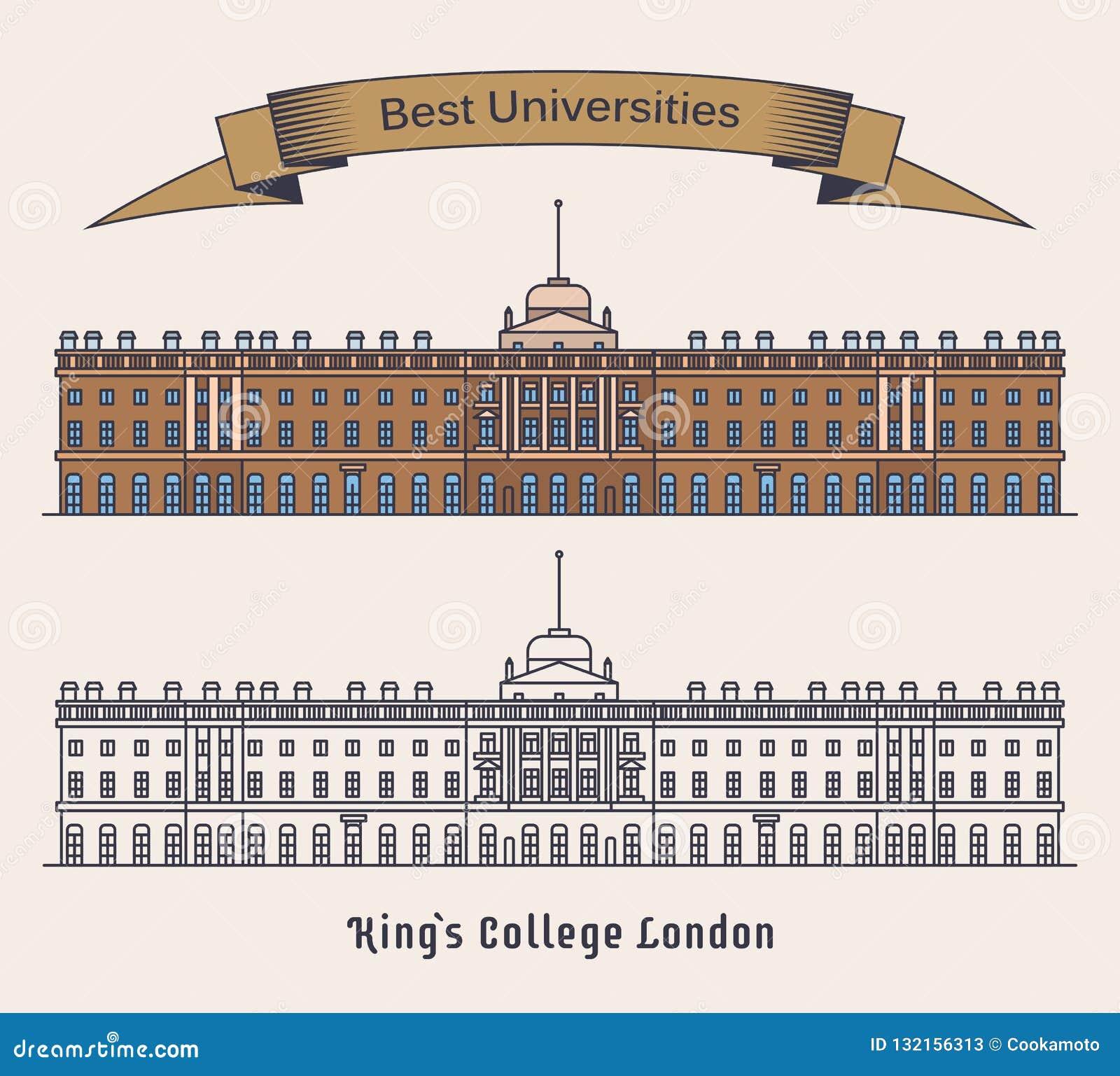 KCL Londyn lub kings college Uniwersytet w Anglia