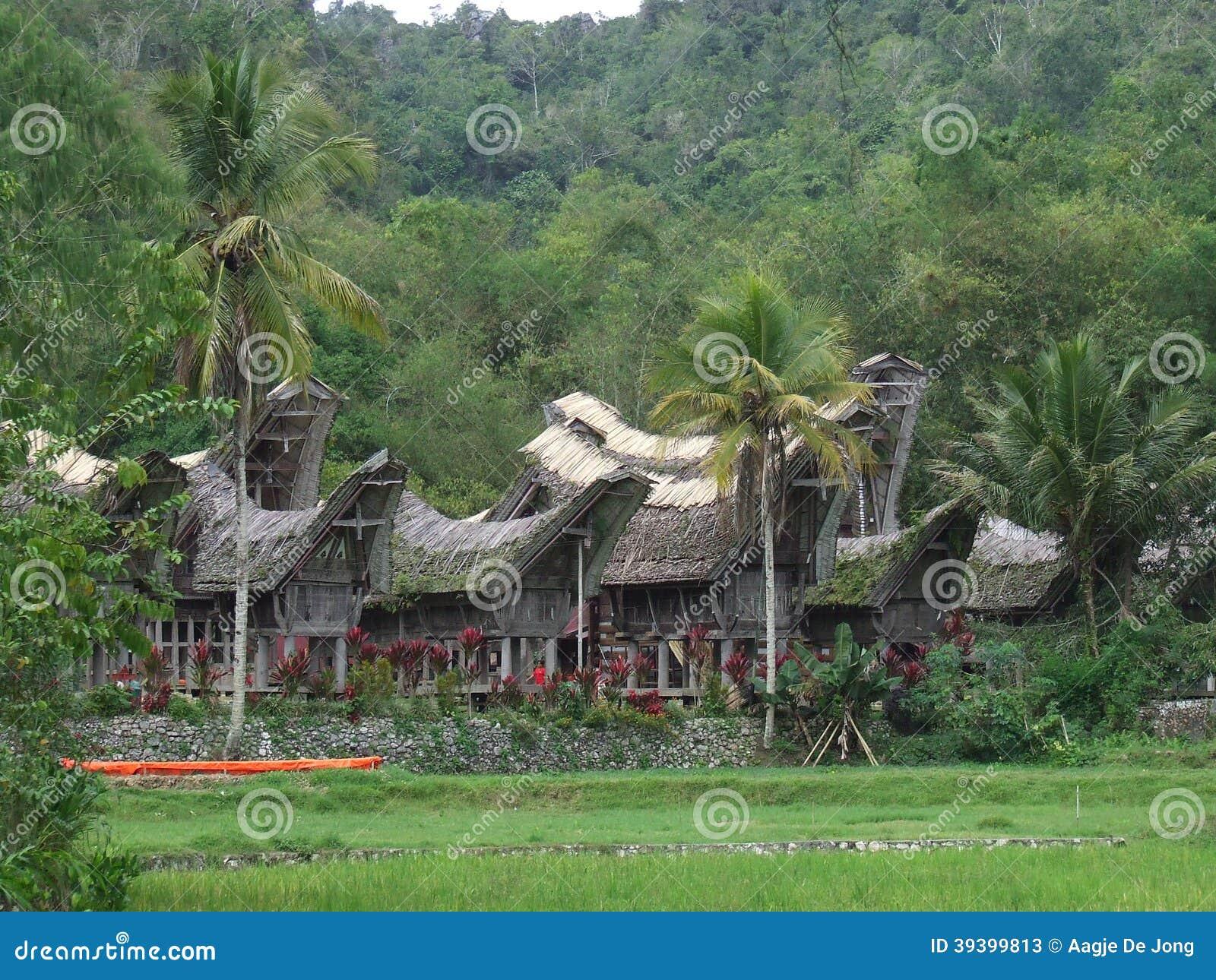 Ke te Kesu village Tana Toraja in Sulawesi