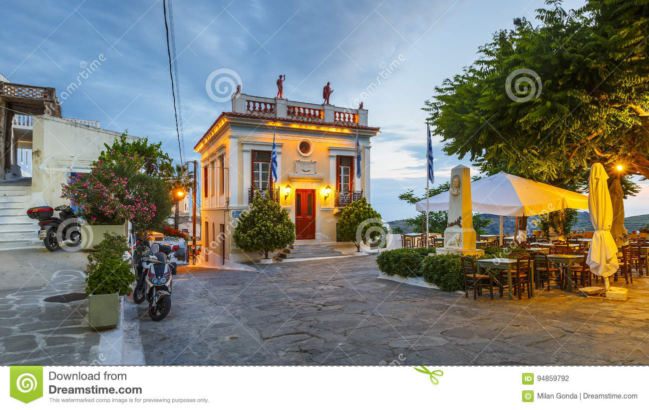 Kea island. editorial photography. Image of cyclades - 94859792