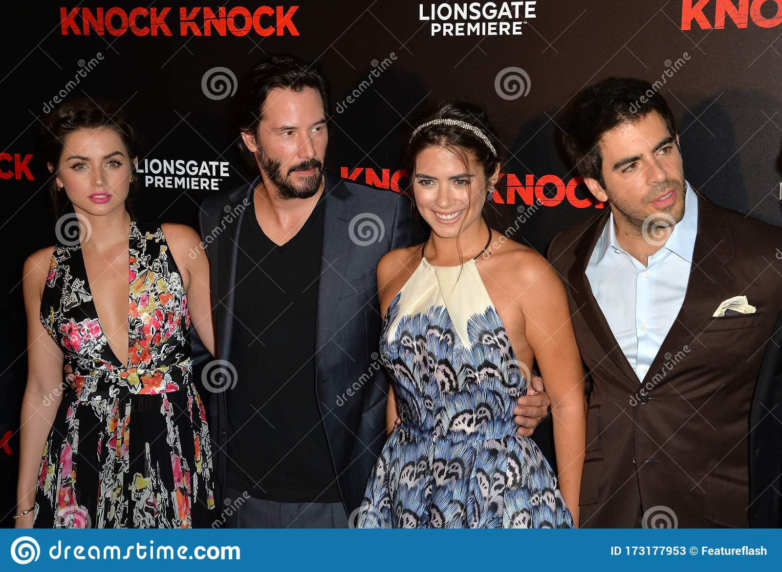 Keanu Reeves Ana De Armas Lorenza Izzo Eli Roth Editorial Stock Photo Image Of Hollywood Style 173177953