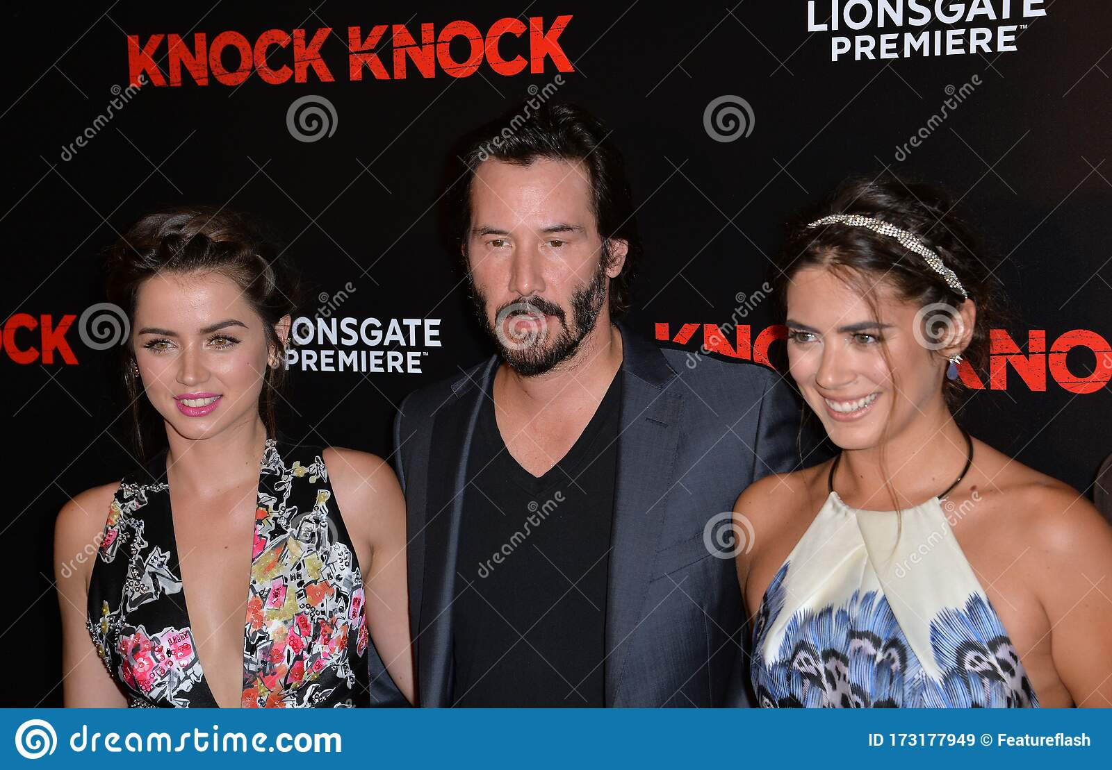 Keanu Reeves Ana De Armas Lorenza Izzo Editorial Stock Image Image Of Movie Keanu 173177949