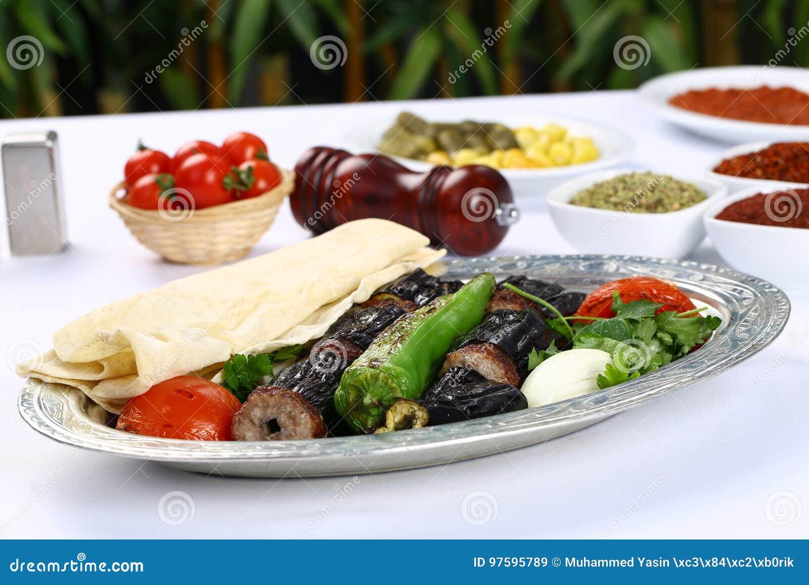 Kebab баклажана