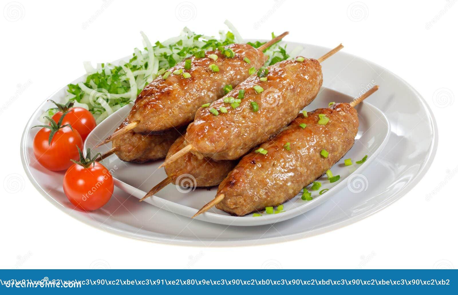 Download Kebab immagine stock. Immagine di barbecue, pomodoro - 36886131