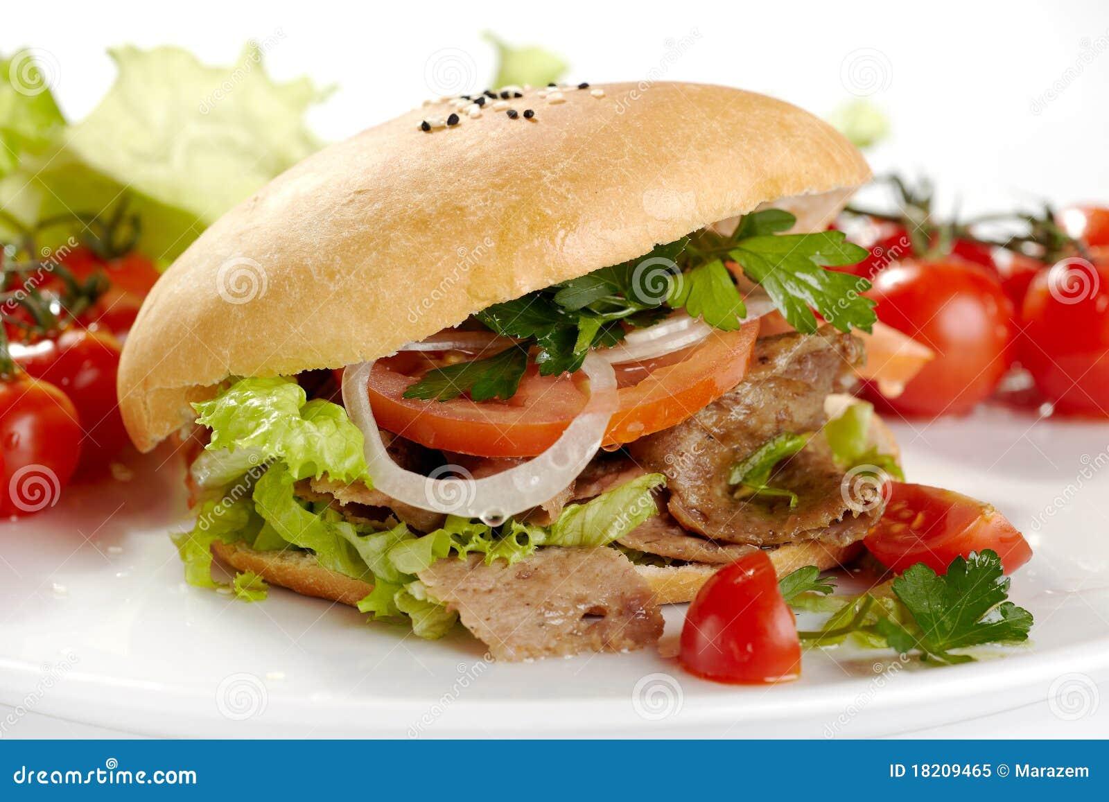 how to make doner kebab bread