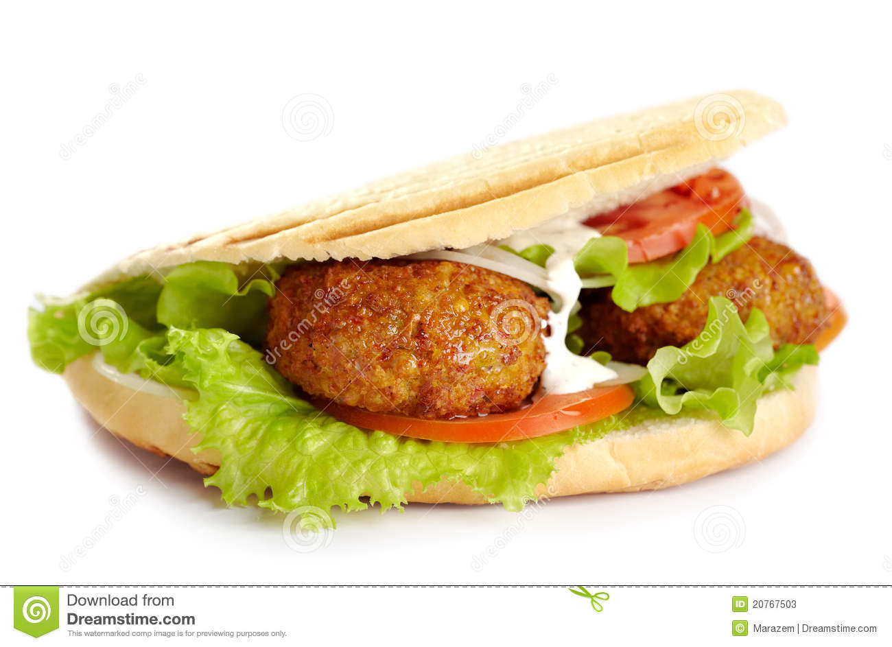 Kebab Sandwich Stock Photos - Image: 20767503