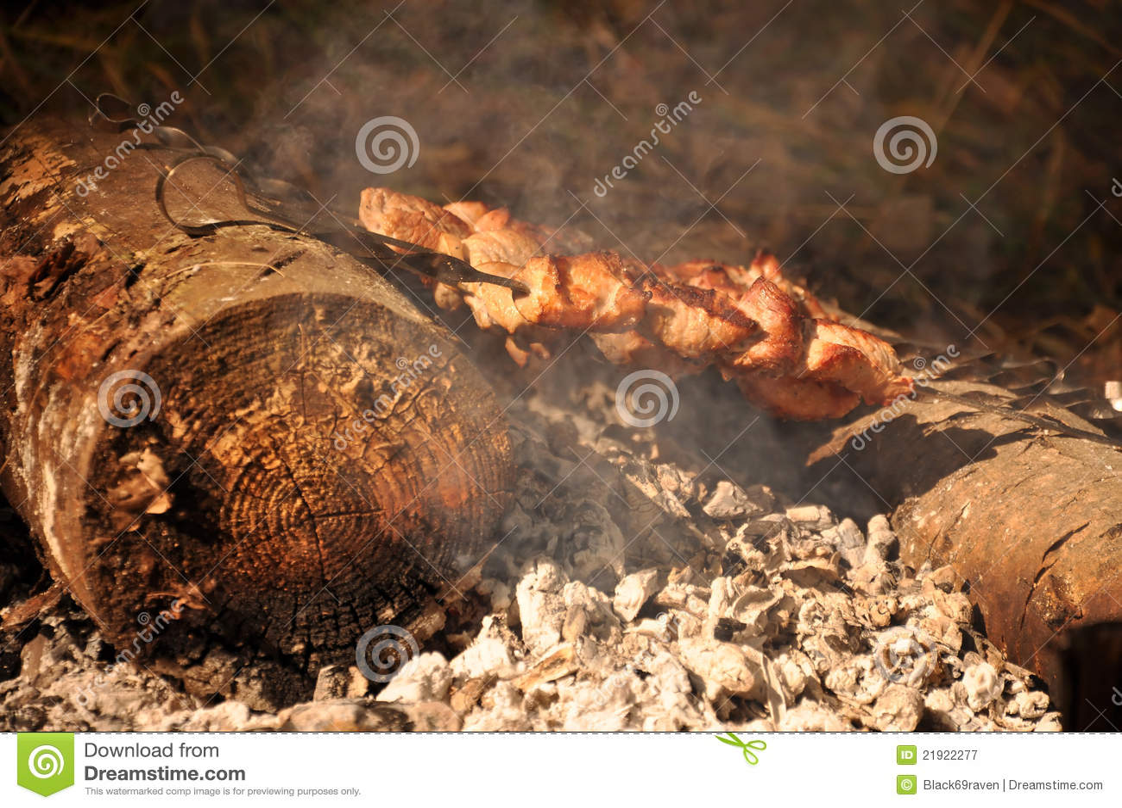 Kebab su fuoco