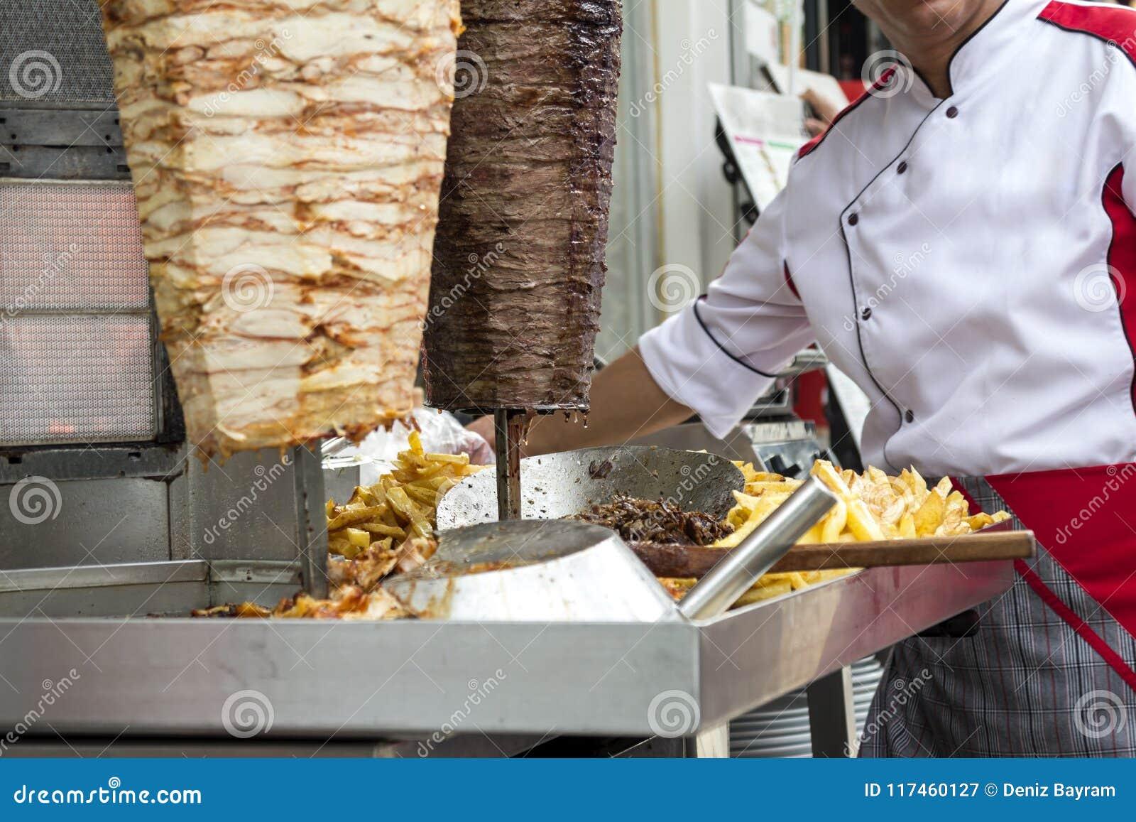 Kebab turco del doner