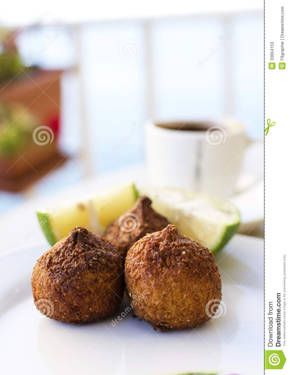 Kebbe stock image image of cooking coffee bite for 3 pieces cuisine