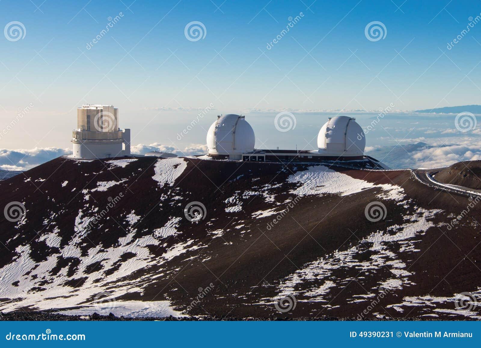 Keck Observatory Hawaii Big Island
