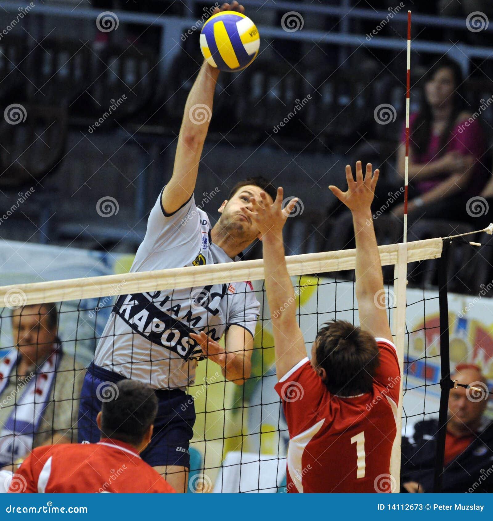 Kecskemet - Kaposvar Volleyballspiel