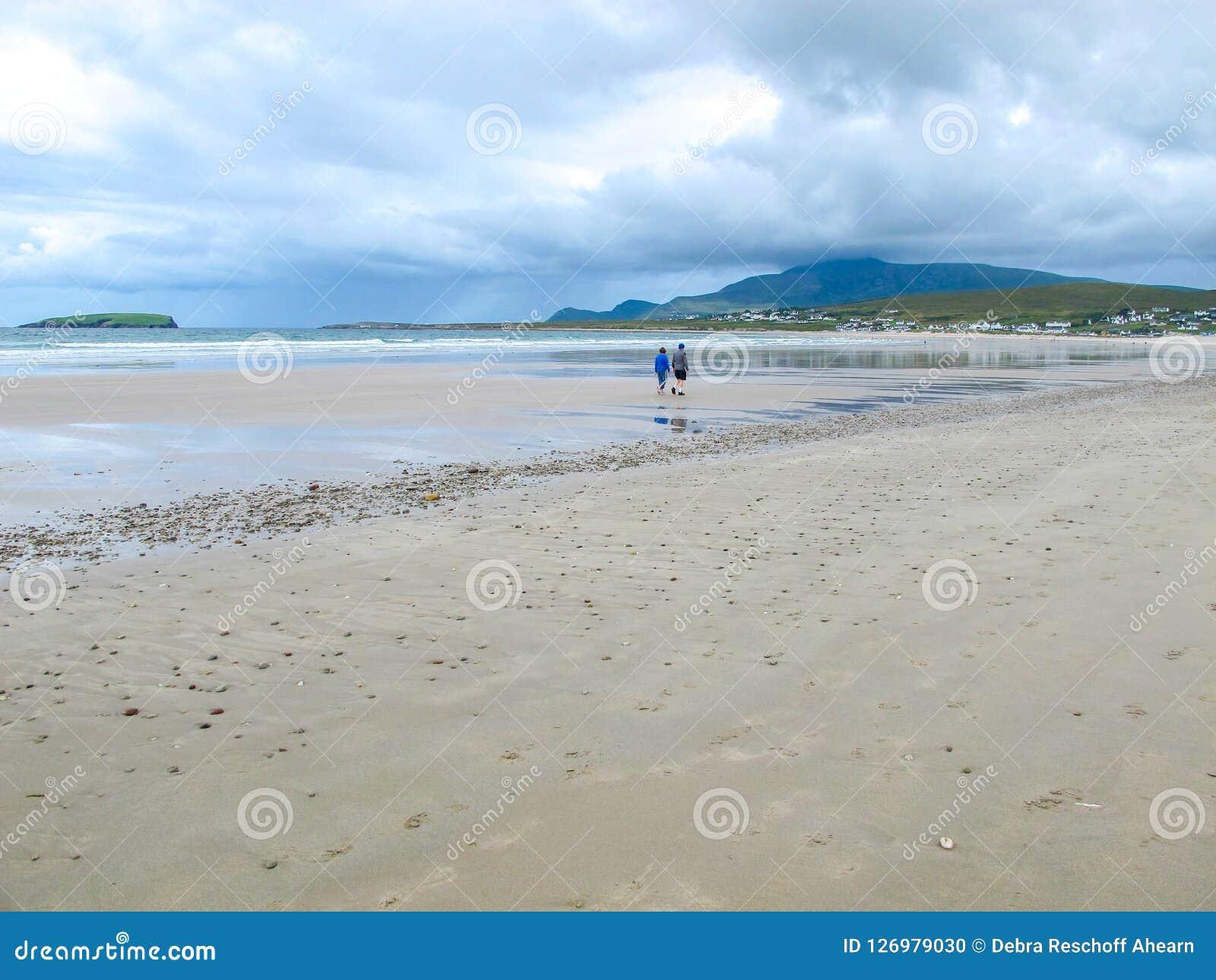 Keel Beach, Achill, Mayo, Irland