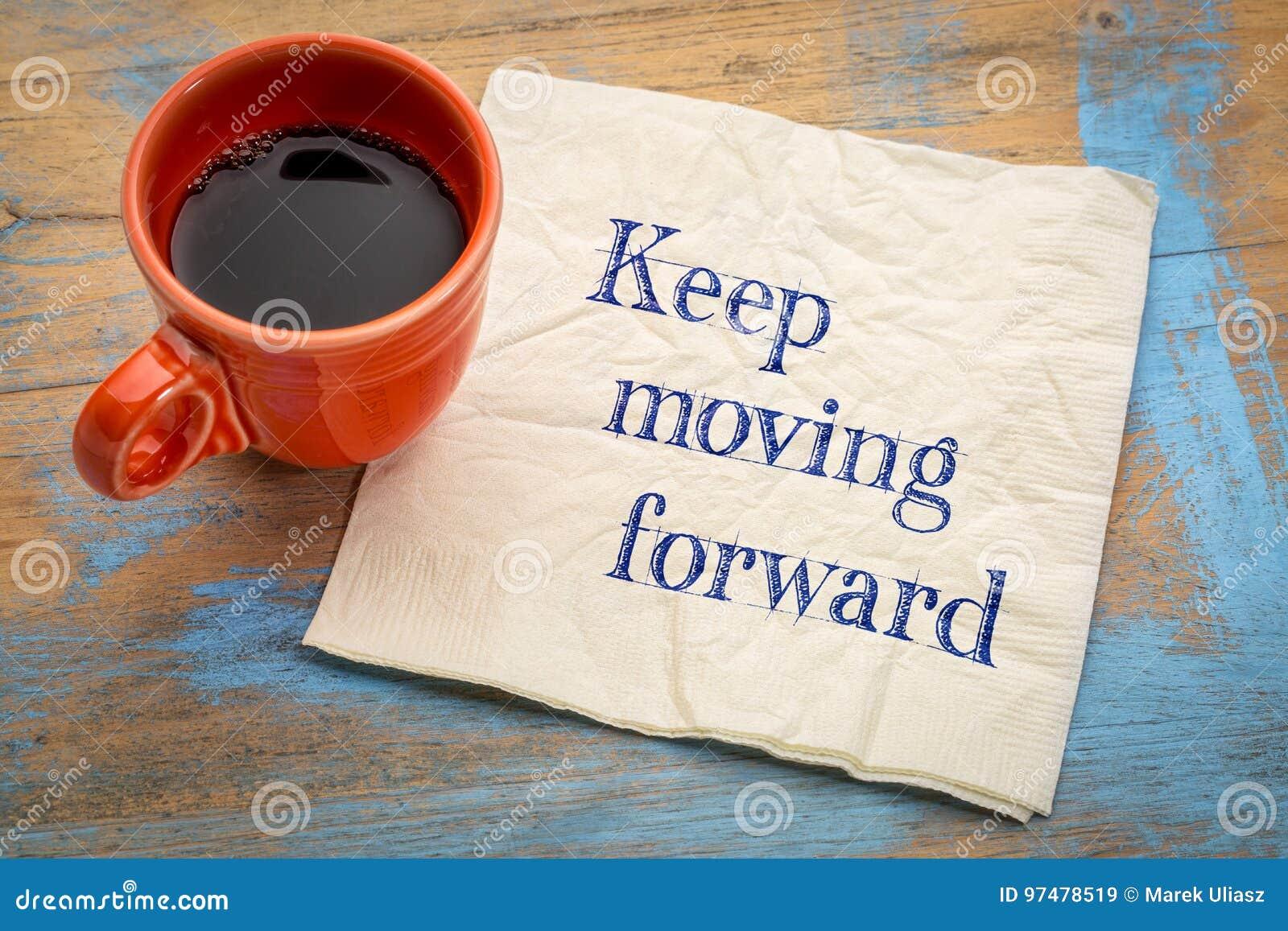 Keep che muove in avanti ricordo
