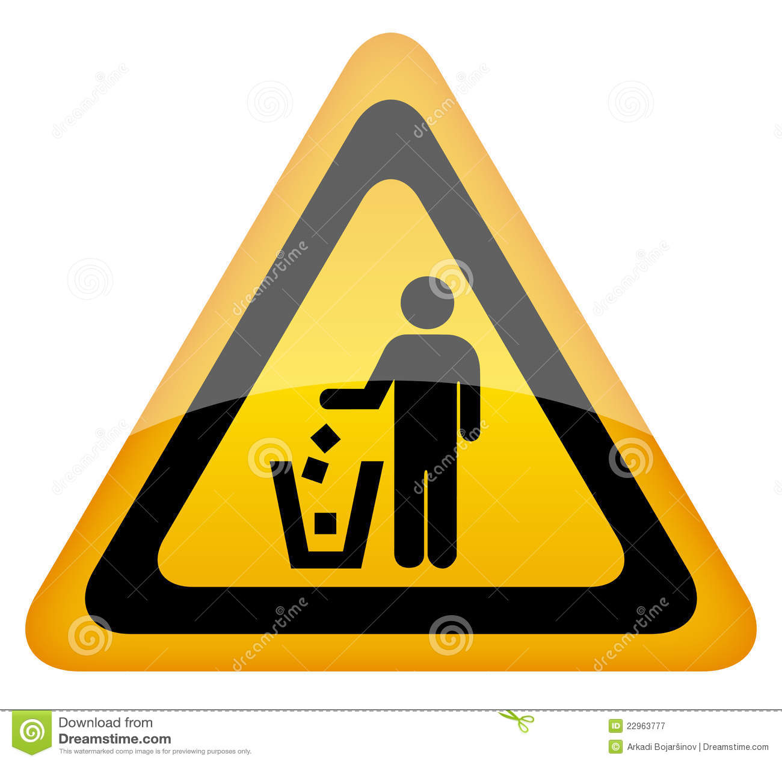 free keep kitchen clean warning | just b.CAUSE