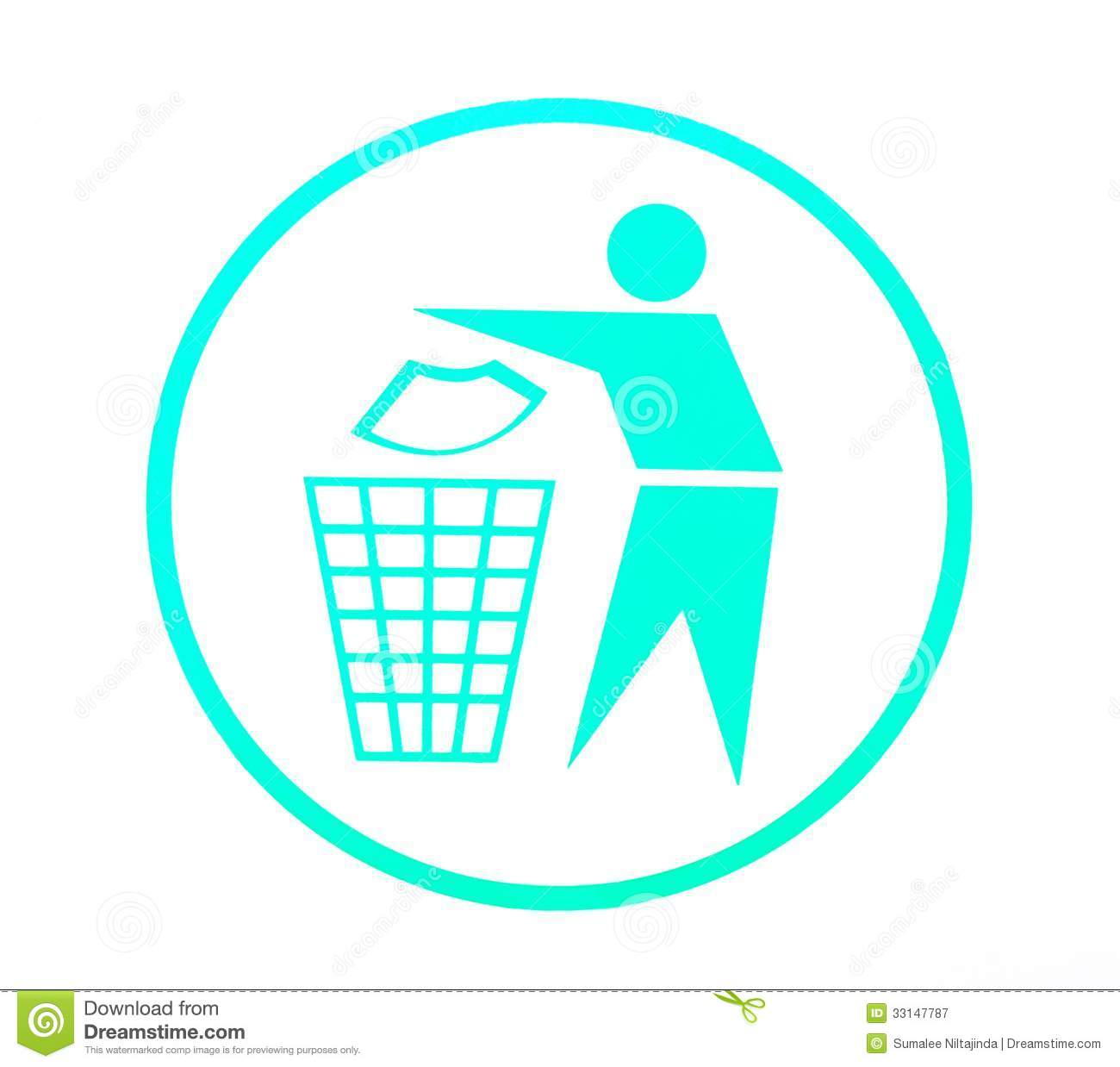 Keep Clean Symbol Royalty Free Stock Photography - Image: 33147787