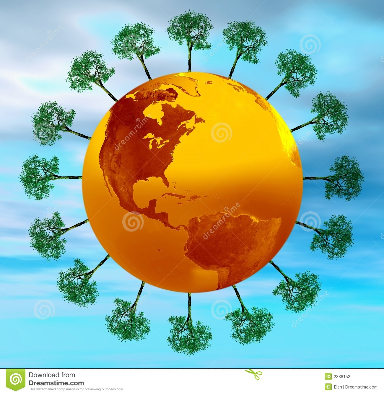 how to keep earth green